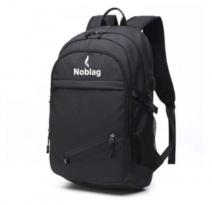 Noblag Luxury Sports Backpacks Bags, Basketball, Soccer With String Ball Compartment USB Port Charging