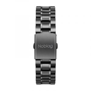 The N-Classic De Noblag Luxury Stainless Steel Watches For Men Black Dial 38mm