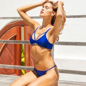 Noblag Luxury Cut-Out High Bikini Set