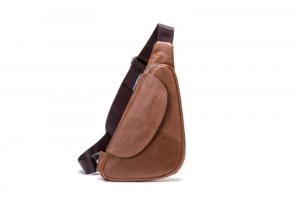 Noblag Luxury Leather Messenger Bag Crossbody Shoulder Brown Sling Bag For Men