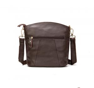 Noblag Luxury Women Leather Crossbody Shoulder Bag Coffee