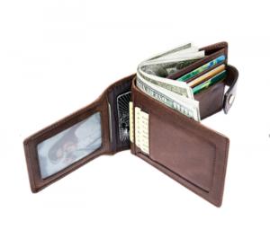 Noblag Luxury Slim Men's RFID Secure Leather Wallet & Holder