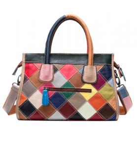 Noblag Luxury Genuine Leather Designer Multi-Color Handbags For Women