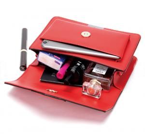 Noblag Luxury Women's Leather Crossbody Shoulder Messenger Red Bag