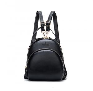 Noblag Luxury Leather Mini Backpack Women Shoulder Rucksack Small Travel Bag