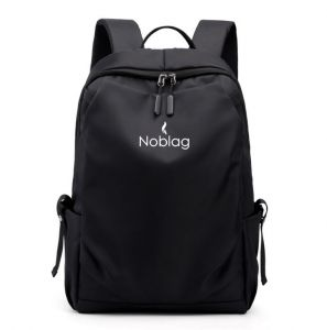 Noblag Luxury Waterproof Best Laptop Backpack Business School Daily Bag Black