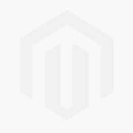 Noblag Luxury 18K rose white Gold Pendant Necklace with triple hearts and silver chain.