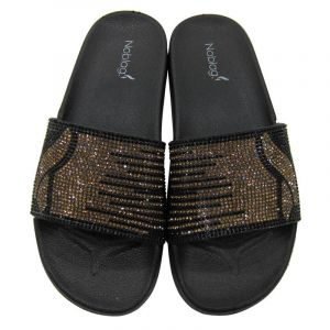 Noblag Luxury  Slide Sandals Slippers For Women Glitter